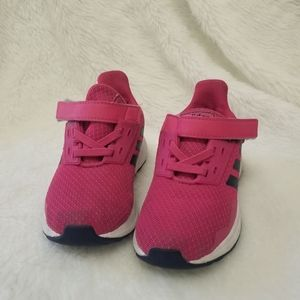 Adidas plum and blue girl sneakers